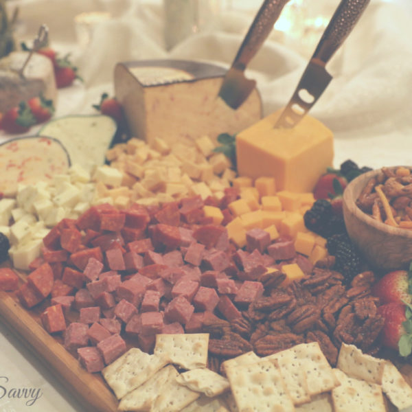 How to Make Party Charcuterie and Cheese Board: Shopping Guide and Tutorial