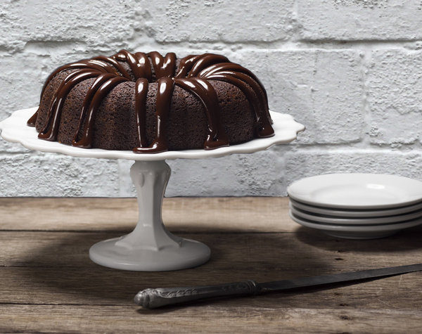 The BEST Chocolate Bundt Cake EVER (From a Mix)!