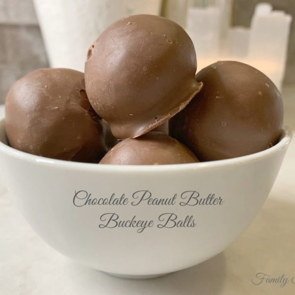 How to Make Chocolate Peanut Butter Buckeye Balls