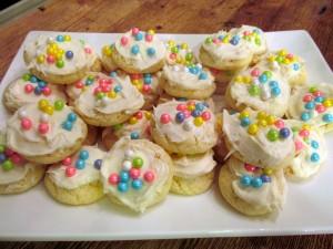 Simple Sugar Cookies With Sprinkles (From Cookie Mix)
