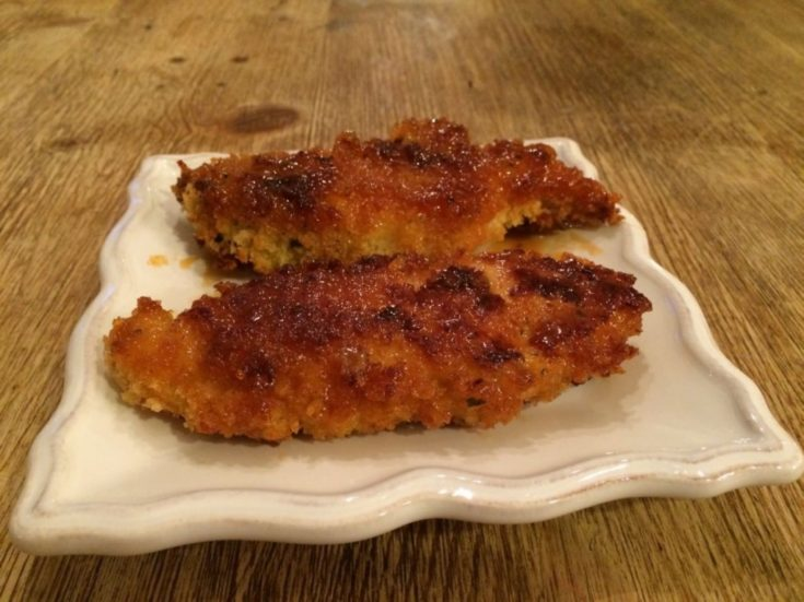 Baked Barbecue Chicken Fingers