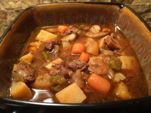 Beef Burgundy in the Slow Cooker