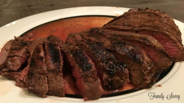 Flatiron Steak in World's Best Marinade