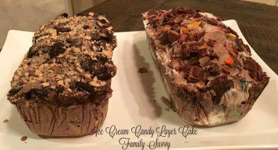 Barb's Ice Cream Cake