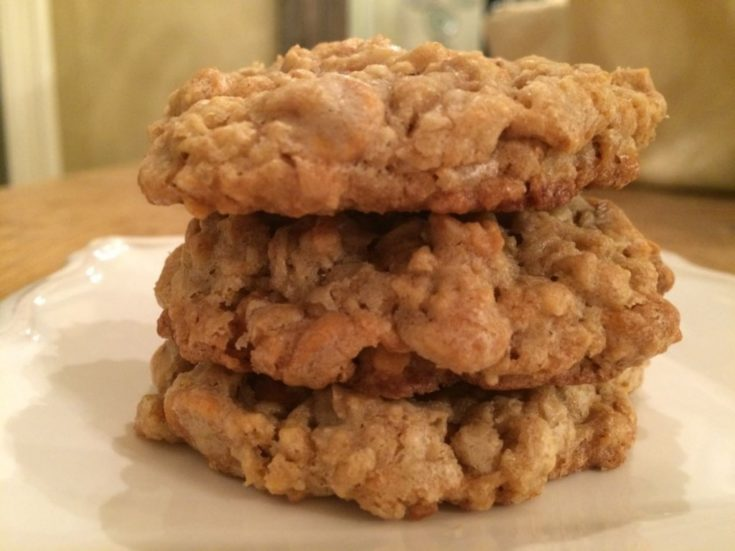 Oatmeal Scotchies Cookie Dough