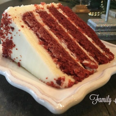 red velvet cak