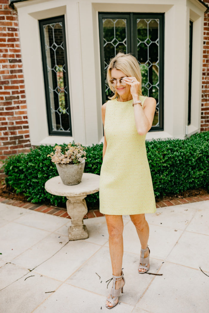 Say Yes to the Colorful Dress (and Tops for White Jeans)