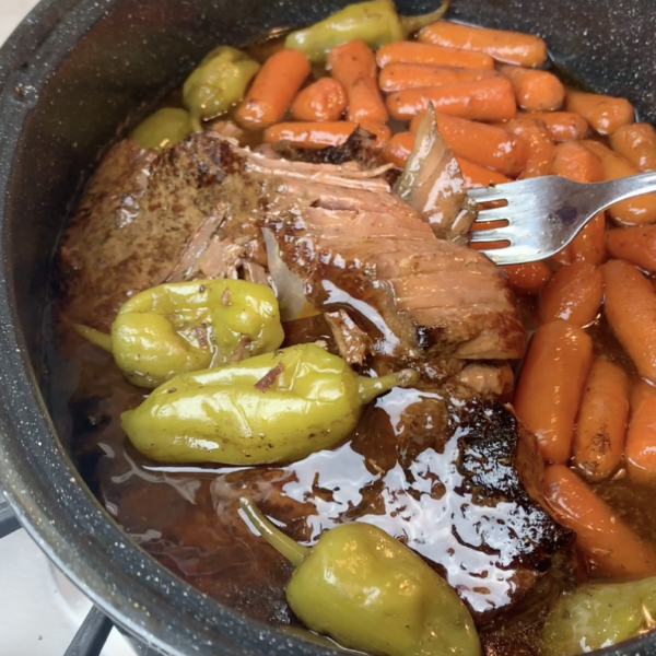 How to Make Fork Tender London Broil Mississippi Roast