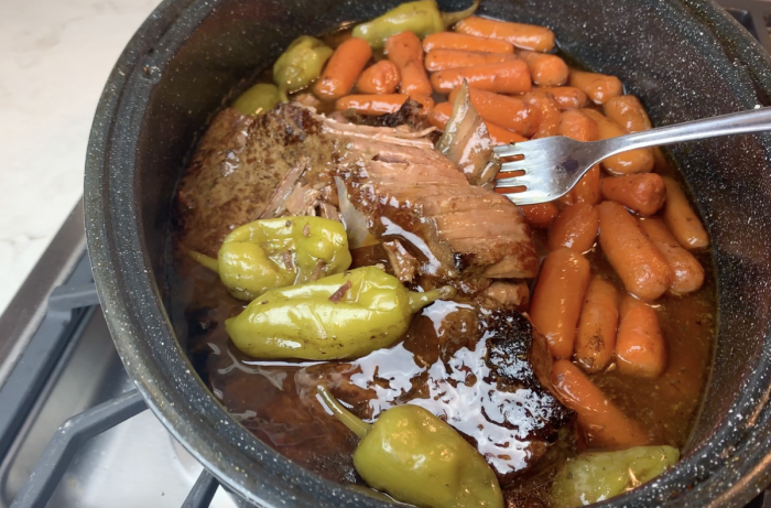 Fork Tender London Broil Roast