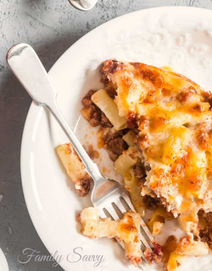 Best Baked Ziti for a Crowd | Family Savvy