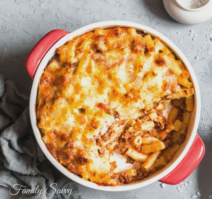 best baked ziti for a party
