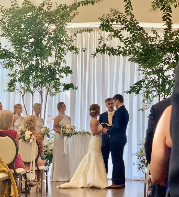 tarence hiller wedding