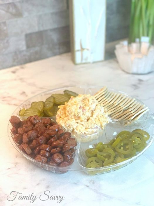 Alabama pimento cheese tray