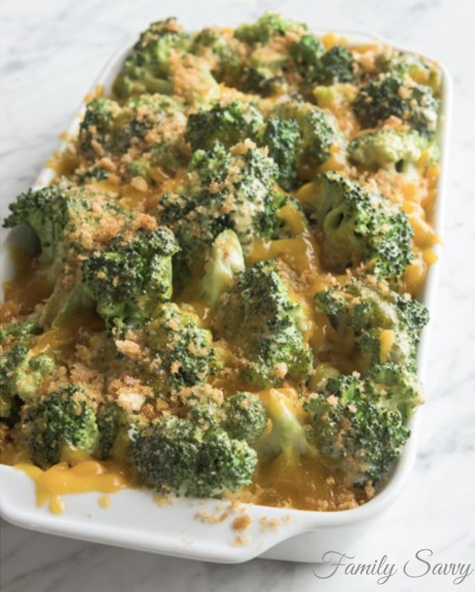 best broccoli cheddar casserole