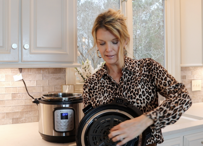 how to use instant pot air fryer