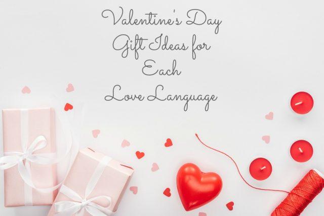 valentine gifts love language