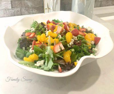 baby blue salad