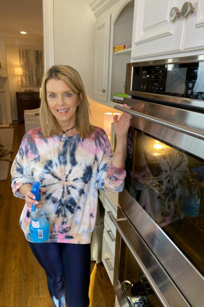 Dawn Vinegar Oven Door Cleaner