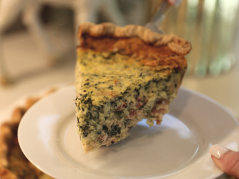 This Spinach Bacon Buttermilk Quiche Is Easy To Make Ahead For Christmas Morning Family Savvy