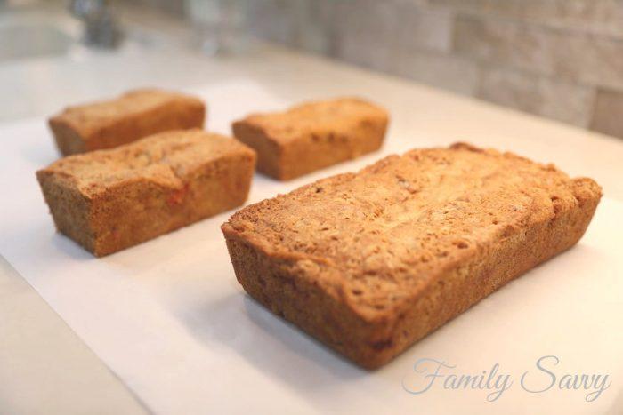strawberry nut bread