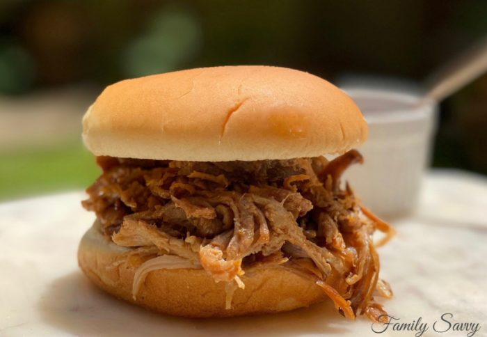 Boston butt pulled pork