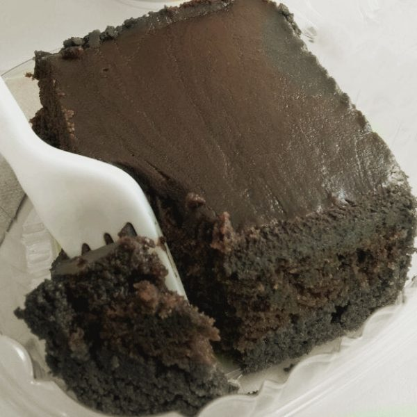 The Best Chocolate Sheet Cake is this Zoe's Kitchen Copycat Recipe