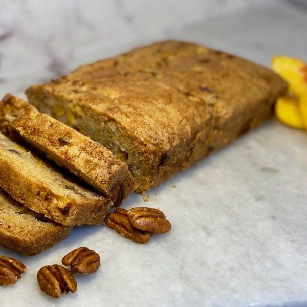 The Best Fresh Peach Bread Recipe (Makes 2 Loaves)