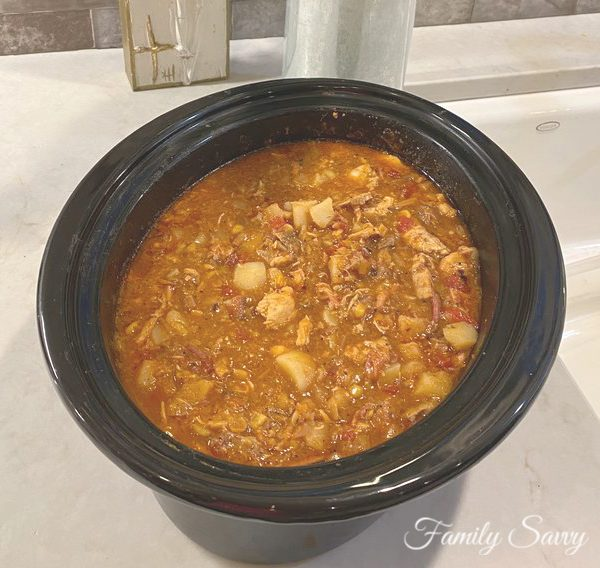 How to Make Fabulous Brunswick Stew in a Slow Cooker