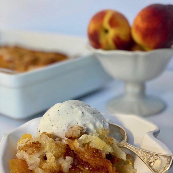 The Best Peach Cobbler Recipe (Made with Buttermilk)