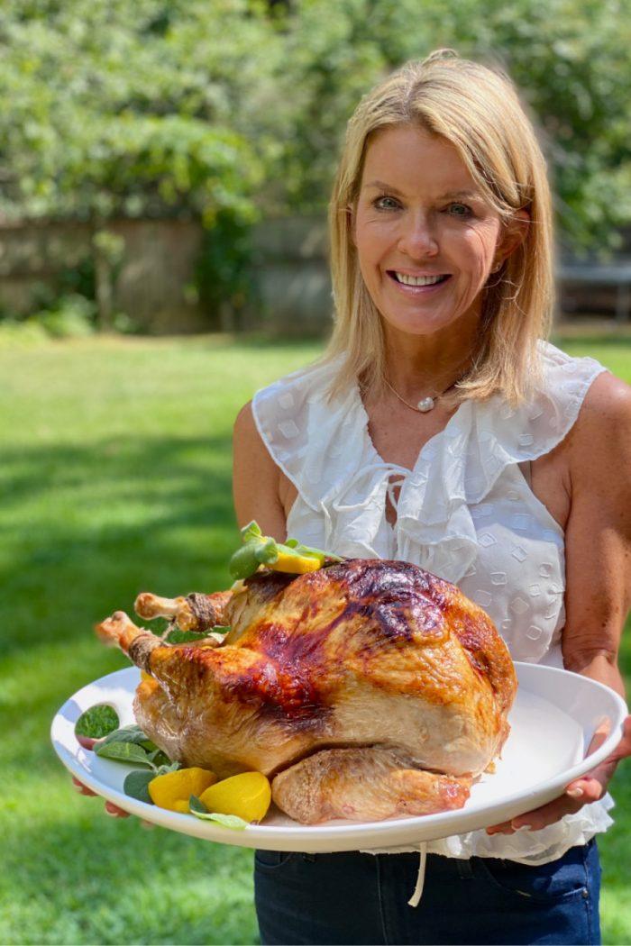 perfect lemon sage roasted turkey