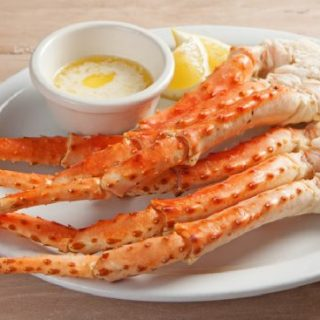 smoked crab claws