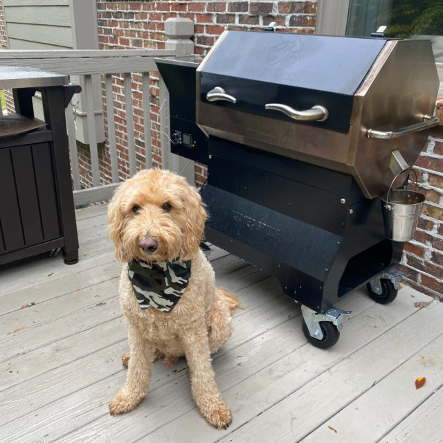 my RecTeq pellet grill