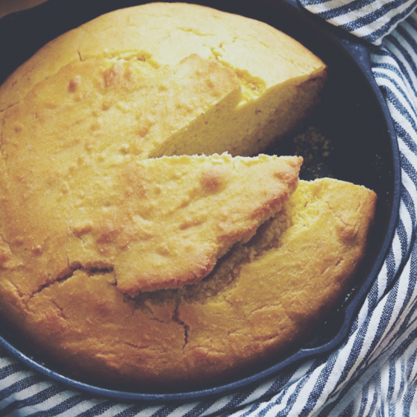 The Best Recipe for Cornbread in a Cast-Iron Skillet